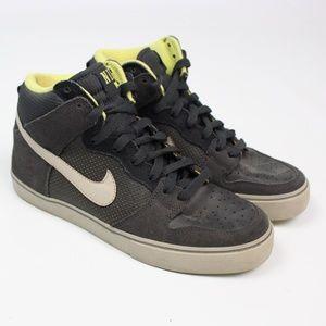 Nike Dunk High LR gray yellow SB sneaker shoe